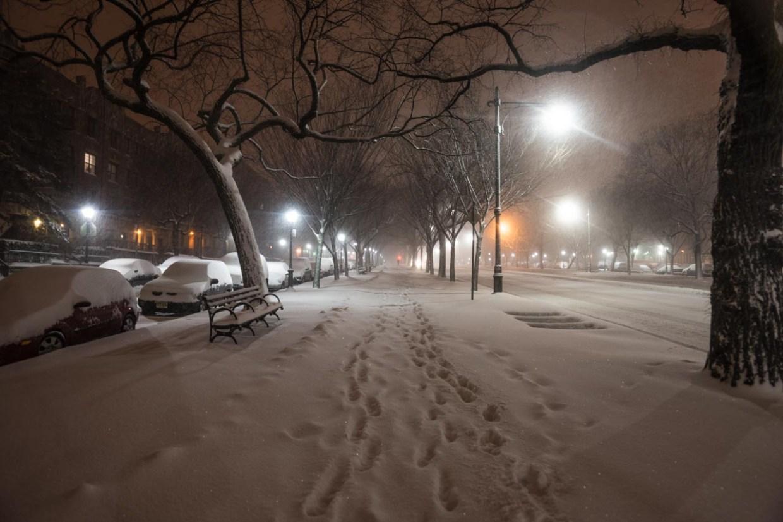 My First Brooklyn Blizzard