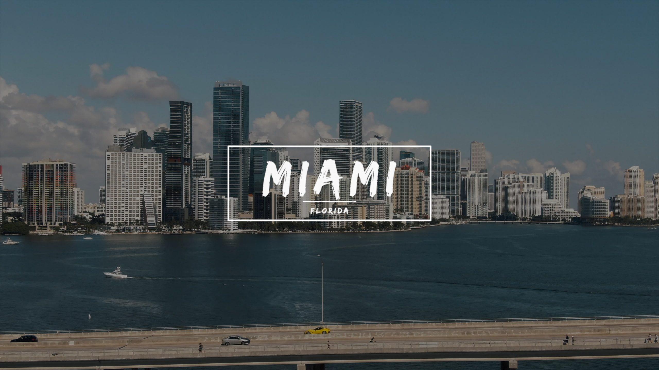 Brickell Waterfront Aerials Downtown Miami