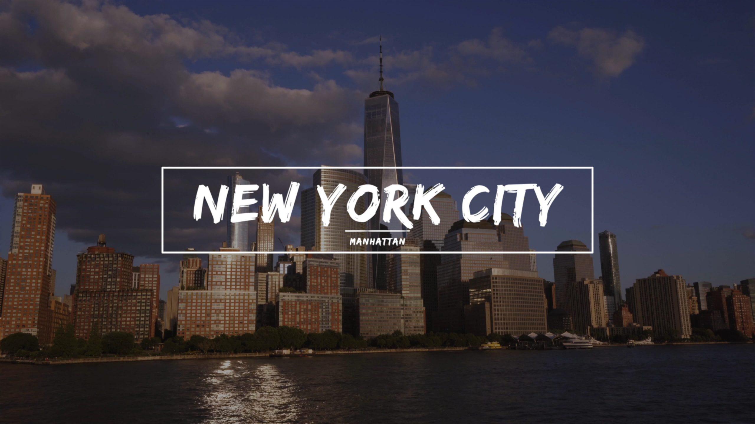 Cinematic NYC – Downtown Manhattan Video