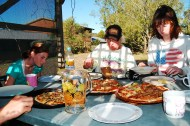 We picked blackberries for this family fora week, here are the pizzas we made them!