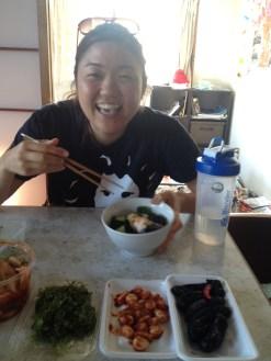 Vegan veggie feast!
