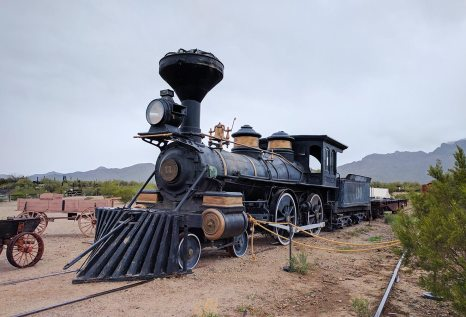 Clint Eastwood drove this train!