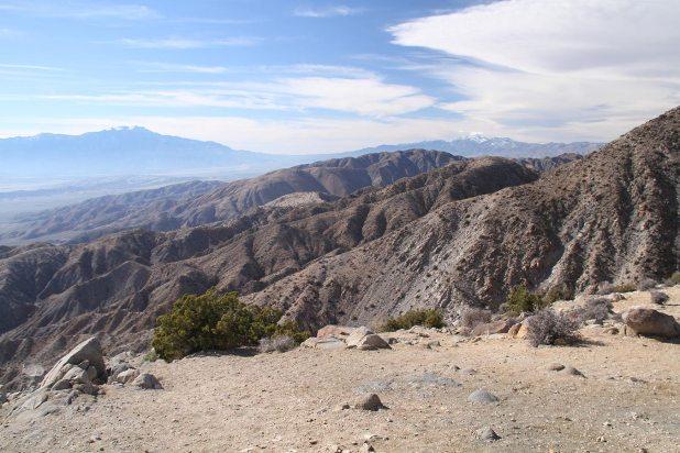 San Gorgonio Mountain on the right