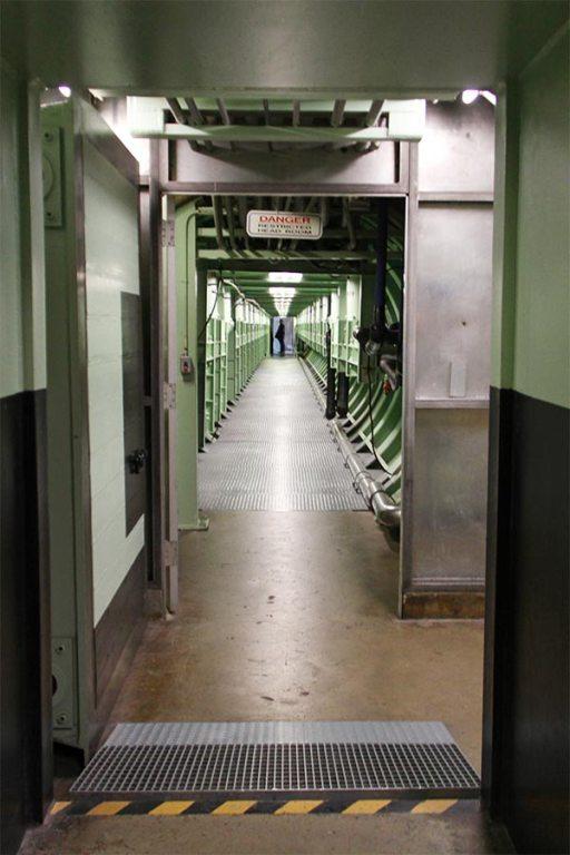 Entering the silo