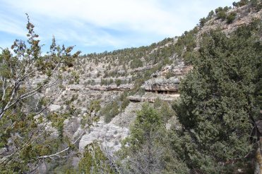 Walnut Canyon (look for the dwellings)