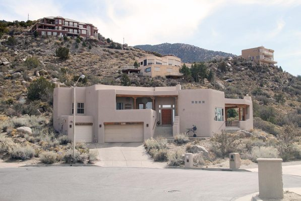 Breaking Bad, the Schrader's house