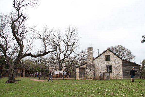 President Johnson's neighbours's farm