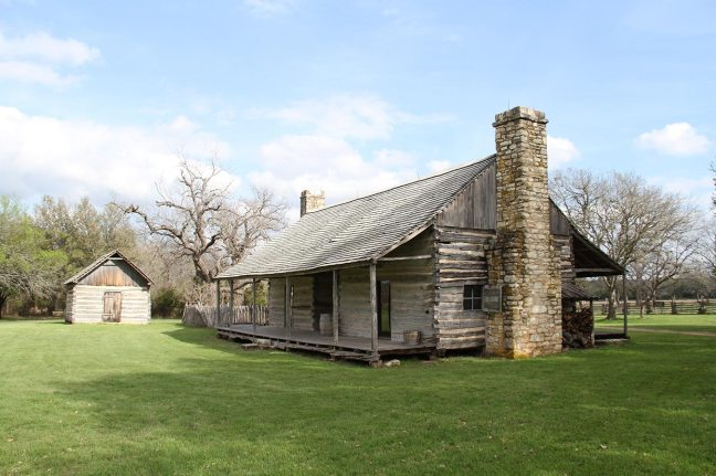 Johnson city settlement (his grandfather was a settler, hence the name Johnson city)