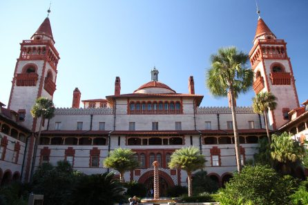 Flagler college in another historic hotel