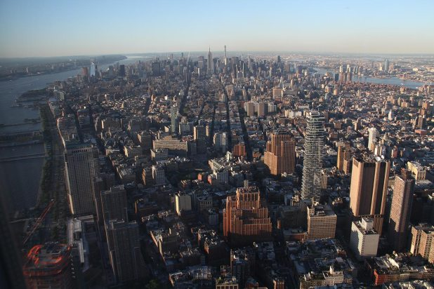 View from One World Trade Center Observatory