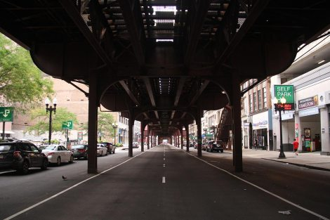"""The """"L"""" (elevated track)"""