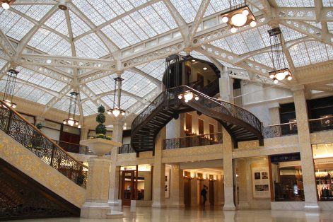 Inside the Rookery Building