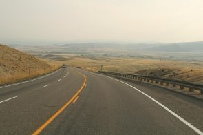 Driving down Montana, going back to Idaho