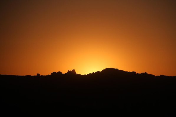 Sunrise near Arches