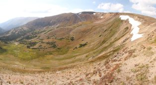 In the alpine tundra