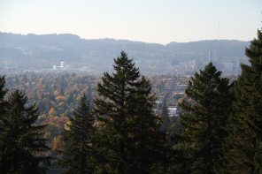 the city from Mount Tabor
