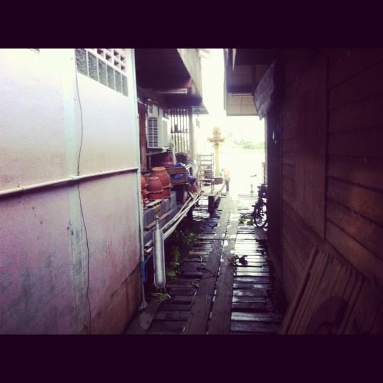 domy nad wodą