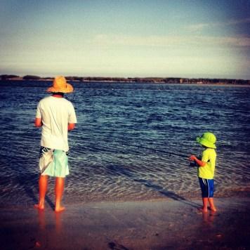 tata i syn i ryby