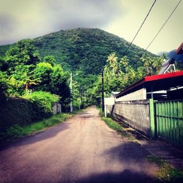mieszkając na Tahiti