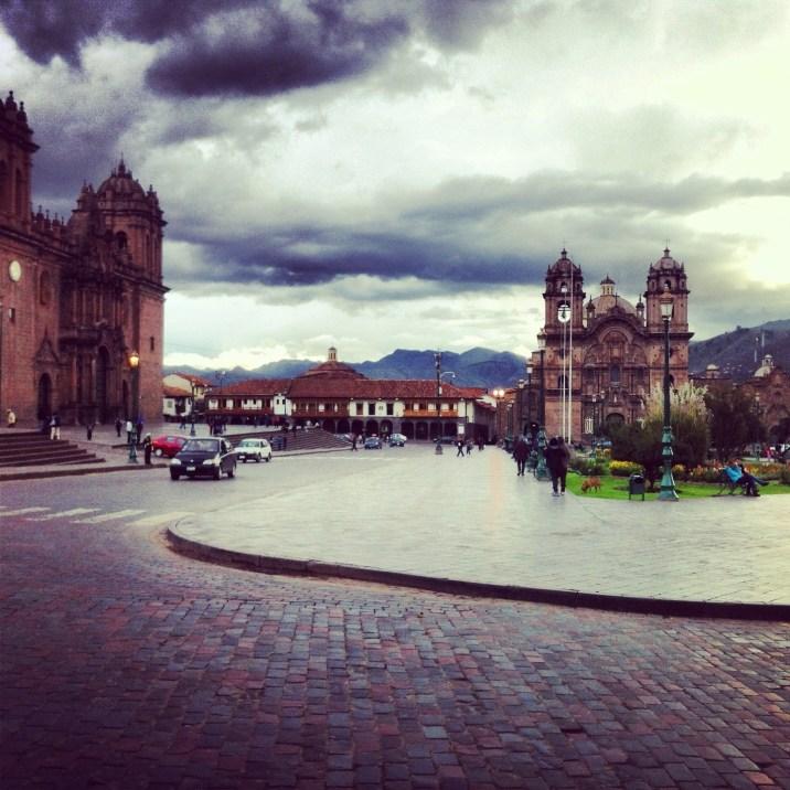 Plac broni w Cuzco