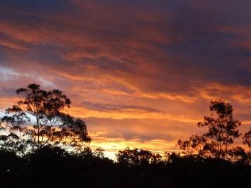 zachód słońca w Australii