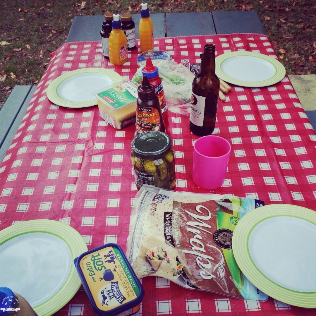 piknik na morzem