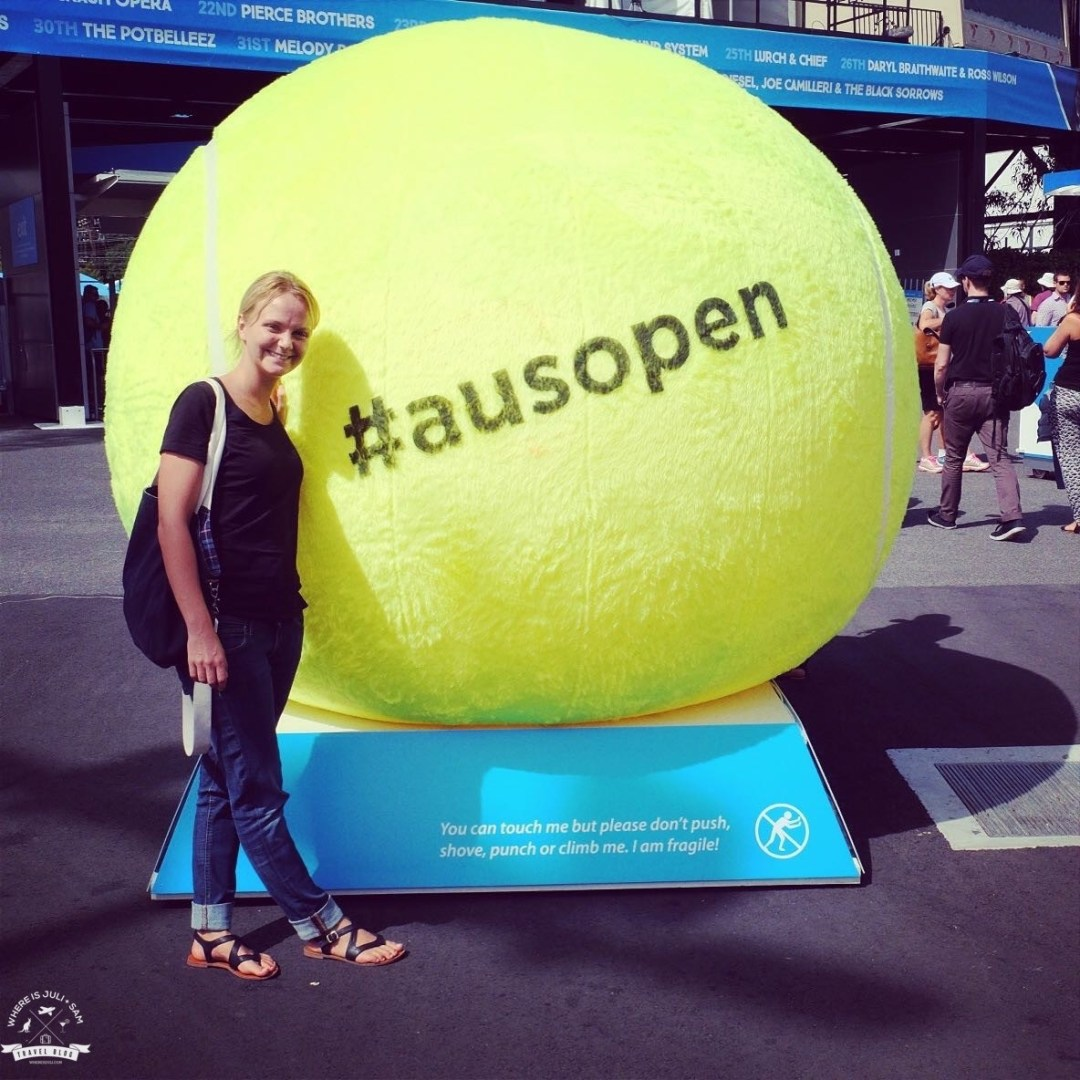 Julia na Aus Open