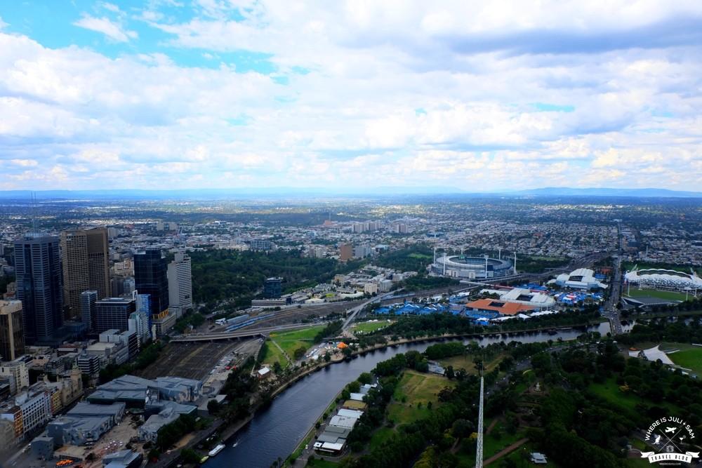 Widok na Melbourne 5
