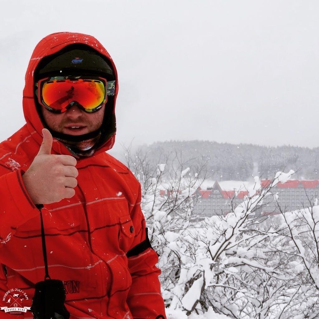 Sam w Hakuba Cortina