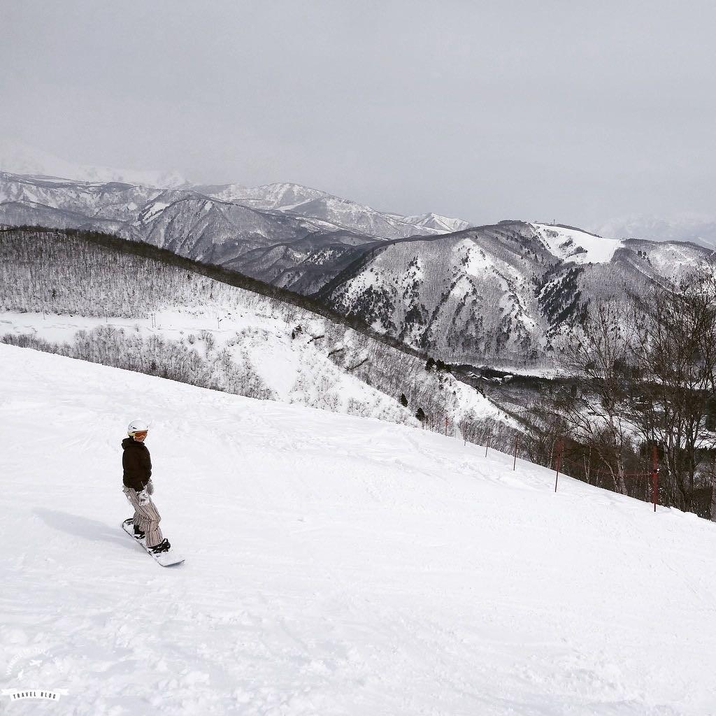 Snowboard w Japonii