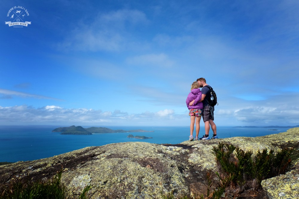 Juli i Sam Australia Whitsundays