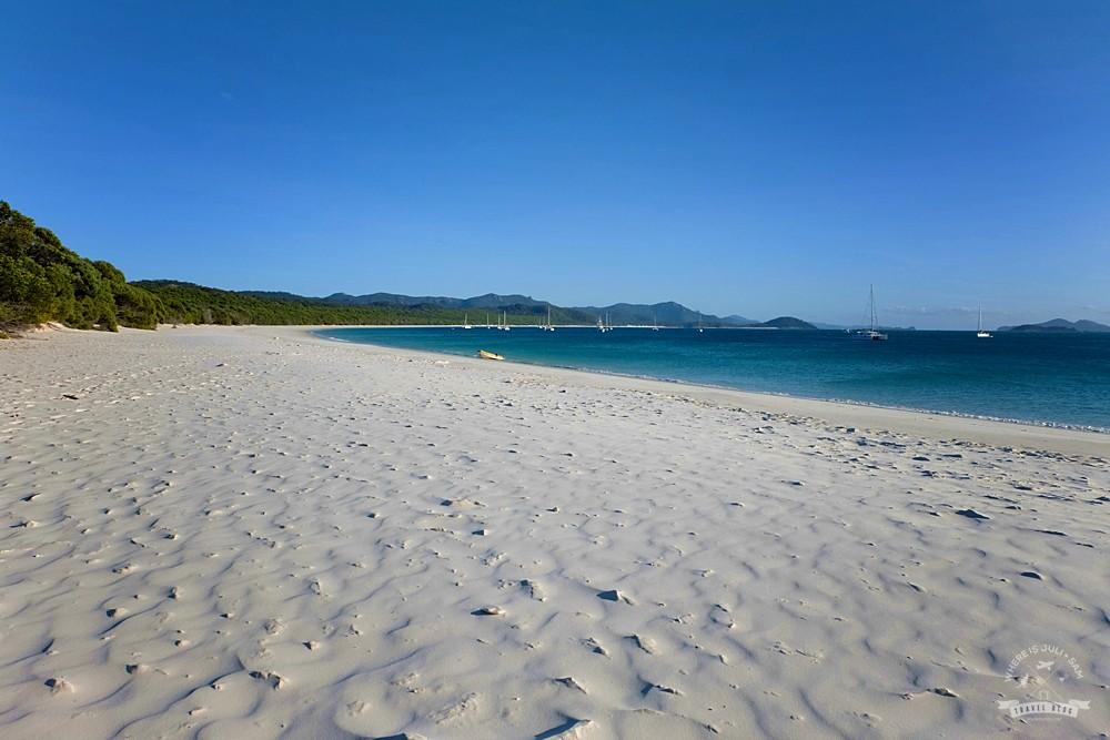bezludna Whitehaven Beach