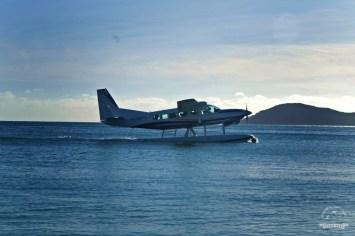 samoloty na Whitehaven Beach