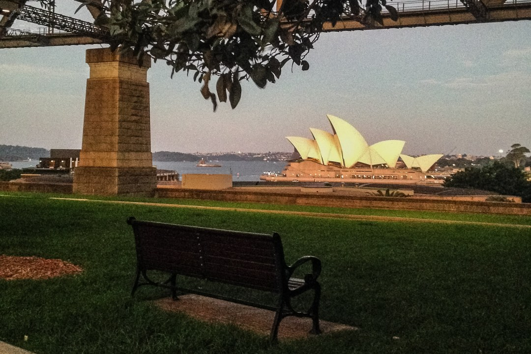 Opera spod Harbour Bridge