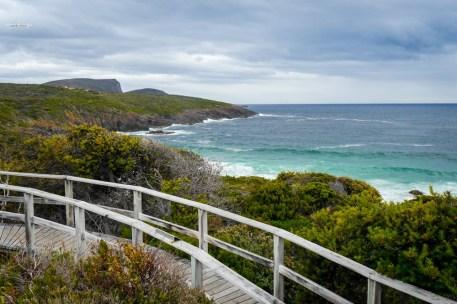 Tasmania Remarkable Cave wybrzeże
