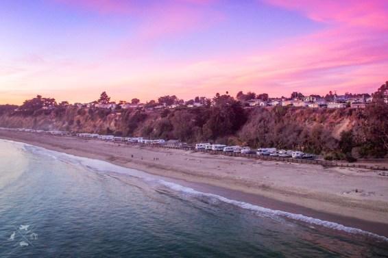 Trasa San Francisco Los Angeles Seacliff State Beach