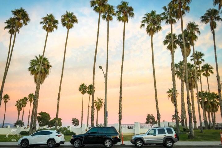 Trasa San Francisco Los Angeles promenada Santa Barbara