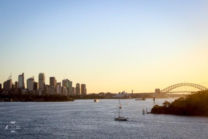 Trasa Sydney Brisbane widok na Sydney