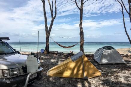 Moreton Island kemping