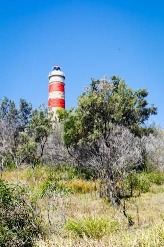 Moreton Island najstrasza latarnia w Queensland