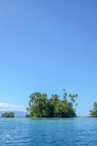 Widok na Skull Island