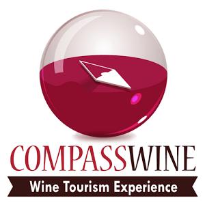 Logo compass wine