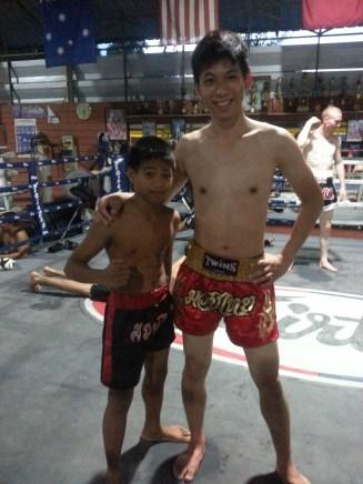Small kids also train