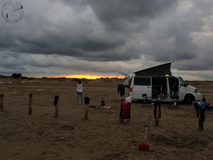Spot de kite en France à la plage de Napoléon