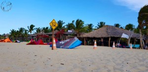 Kite zone Barra Grande Kitesurf Brésil