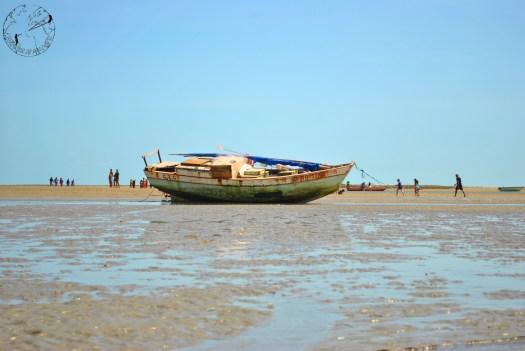 Baterau sur la plage de Macapa, kitetrip Brésil