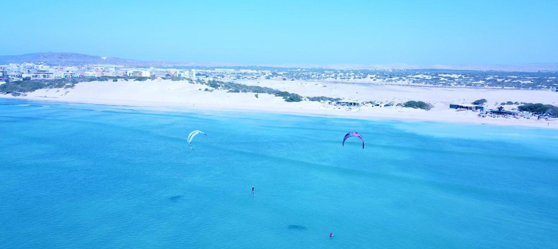 Spot de kitesurf, Boa Vista, Praia de Estoril