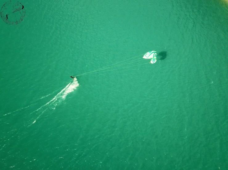 Spot de kite de Monteynard, RRD, session sur les lacs de France