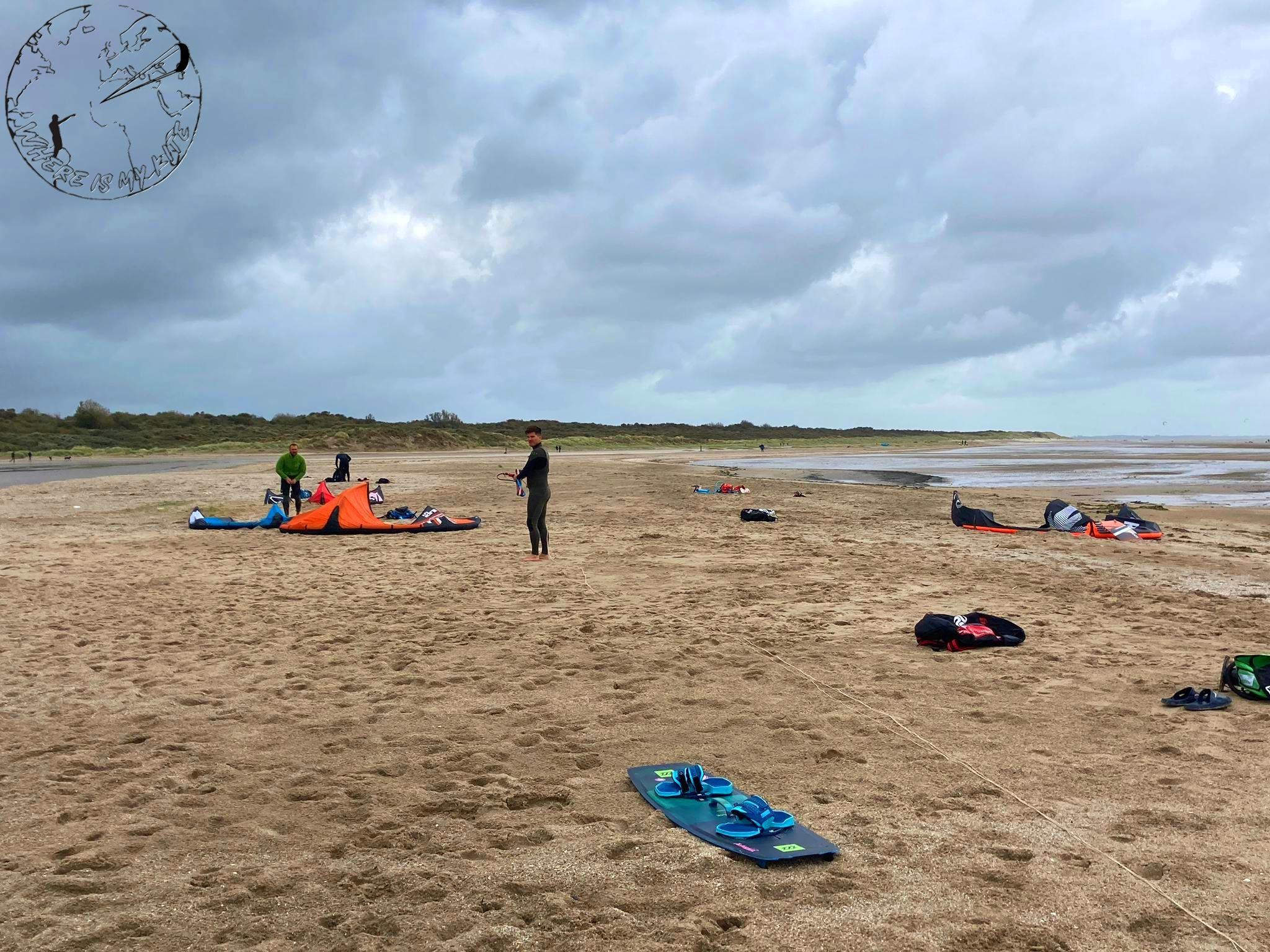 Spot de kitesurf en Hollande, Ostvoorne,