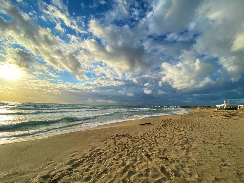Spot de la plage de Galipoli en Italie